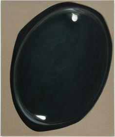 Robert Zandvliet Black mirror, 2012 172 x 144 cm egg tempera on linen price on request at Bernhard Knaus Fine Art, Frankfurt http://www.bernhardknaus-art.de/Robert_Zandvliet_Stones_E.html