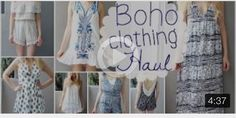 Boho Clothing Haul Boho clothing haul Meghan