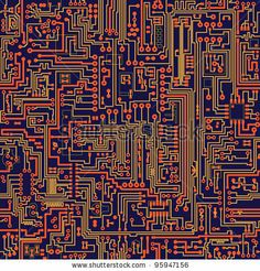 circuit board seamless texture | Graphics & Textures | Pinterest ...