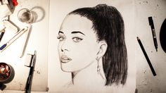 Speed Drawing - Katy Perry