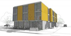 2010 Architect HyBrid Architecture Construction tbd SF 30,000SF Client Nader Assemi HyBrid recently began design on our latest cargotecture project – the CALI Work Lofts. Located in an urban arts...