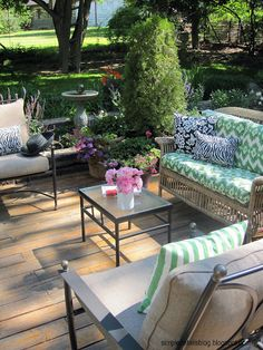 deck/backyard ideas