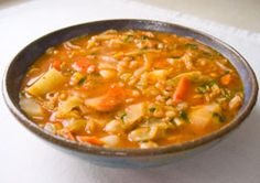 Nutritious Delicious Cabbage Soup Diet Recipe: We don't recommend the cabbage soup diet - but if you want a low cal, filling, nourishing vegan meal, here it is.