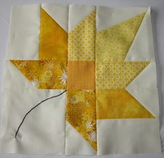 Quilter in the Closet  I can't wait to finish my #Autumn #Splendor Quilt similar to this block!