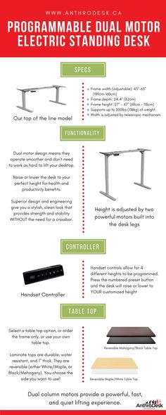 Some Benefits Of Using A Standing Desk. Although This Is Just A Few, The  Benefits Are Endless. | Benefits Of A Standing Desk | Pinterest | Standing  Desk ...