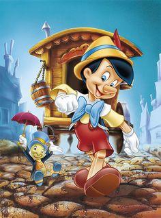 Pinocho. W.D.