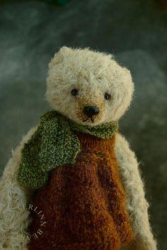 """One Of a Kind 6 """" Mohair Artist Teddy Bear from Aerlinn Bears"""