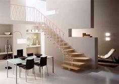 escaleras para espacios pequeños con medidas - Buscar con Google