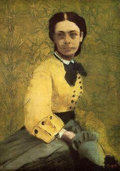 Edgar Degas - Portrait de Princesse Pauline de Metternich ▓█▓▒░▒▓█▓▒░▒▓█▓▒░▒▓█▓ Gᴀʙʏ﹣Fᴇ́ᴇʀɪᴇ ﹕ Bɪᴊᴏᴜx ᴀ̀ ᴛʜᴇ̀ᴍᴇs ☞  http://www.alittlemarket.com/boutique/gaby_feerie-132444.html ▓█▓▒░▒▓█▓▒░▒▓█▓▒░▒▓█▓