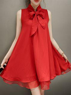 red dress,stripe dress,print dress,ruffle dress