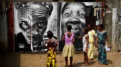 Women Are Heroes - Africa | JR - Artist