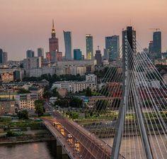 #Warszawa Skyline Poland