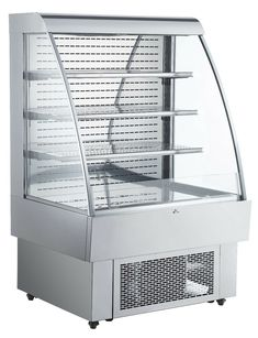 $3454.26 • Buy 40 Inches Open Refrigeration Display Case Refrigerator Merchandiser Showcase Beverage Refrigerator, Display Shelves, Display Case, Commercial Catering Equipment, Water Tray, All Stainless Steel, Cool Stuff, Duke