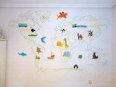 mural mapamundi
