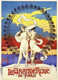 La Grande Roue De Paris 1899.