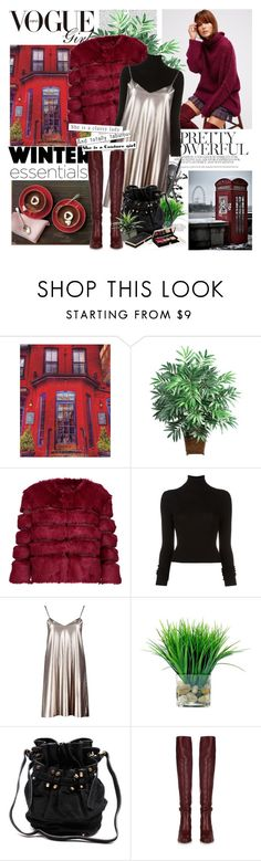 """Winter boots, winter trends."" by lalixie ❤ liked on Polyvore featuring Nearly Natural, AINEA, BLK DNM, Boohoo, Alexander Wang and Chloé"