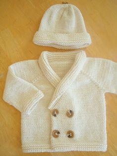 Henry's Sweater - easy seamless top-down cardigan - pattern by Sara Elizabeth Kellner free pattern