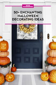 Save these Halloween decorating ideas and follow Good Housekeeping on Pinterest for more holiday inspiration.