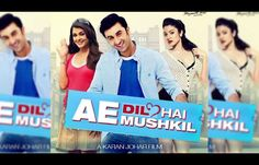 #KaranJohar – 'Ae Dil Hai Mushkil's First Posters Is Spell Bound!
