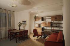 fot. NAC Divider, Mid Century, Room, Furniture, Home Decor, Design, Vintage, Historia, Bedroom