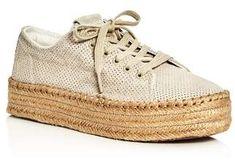 Tretorn Women's Eve Lace Up Platform Espadrille Sneakers
