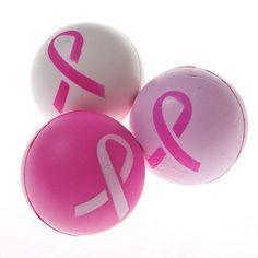 Amazon.com: Fun Express Pink Ribbon Breast Cancer Awareness Stress Balls - 12 Pieces: Toys & Games Pink Games, Fun Express, Golf, Breast Cancer Awareness, Stress, Ribbon, Day, Balls, Amazon