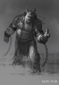 Polyphemus Concept from God of War: Ascension