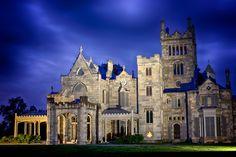 Tarrytown ~ New York ~ Jay Ghoul's House of Curiosities Lyndhurst Mansion.