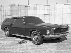 The Ford Mustang Concept that Missed the Grade, 1966 station wagon
