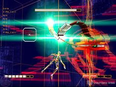 The World of Indie Games Rez was a fantastic on-rails/music game