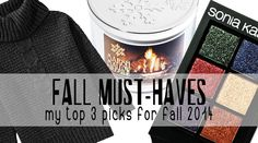 Prairie Beauty: Fall Must Haves 2014