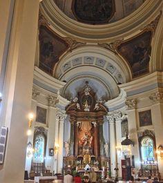 Interior Parroquia de San Marcos. C/ San Leonardo, 10. 28015 Madrid.