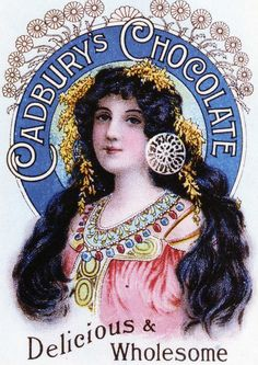 Cadbury's Lady
