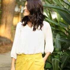 Talk about turning heads! Looking golden in your Stitch Fix top, @i4anieye4aneye. #regram