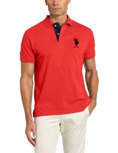 U.S. Polo Assn. Mens Slim Fit Solid Polo, Barberry, Large U.S. Polo Assn.,http://www.amazon.com/dp/B00AJLJ056/ref=cm_sw_r_pi_dp_9M6srb1SKP3V3CSZ
