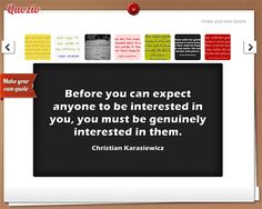 Quozio - Creating quotes to pin