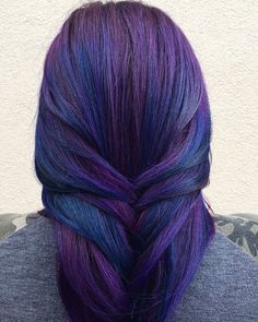 A Running List of All the #InstaFamous Hair Color Trends On Your Feed - Jewel Toned Hair - from InStyle.com