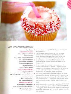 Roze Limonade Cupcakes