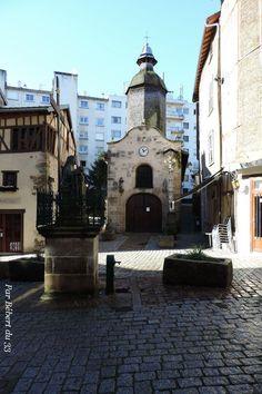 Limoges, Haute Vienne, Dept 87. La Chapelle Saint Aurélien