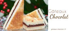 Club sandwich sucré au gianduja de Cyril Lignac