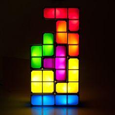 Tetris Lamp - 7-delig