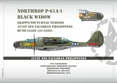 P-61A Black Widow Black Widow, Scale Models, Airplane, Science Fiction, Creativity, Fighter Jets, Plane, Sci Fi, Aircraft