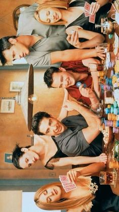 The one where they all play poker Friends Scenes, Friends Cast, Friends Episodes, Friends Moments, Friends Tv Show, Friends Forever, Series Movies, Tv Series, Friends Poster