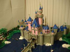 Sasaki Time: Disneyland Castle Made Out Of Legos!