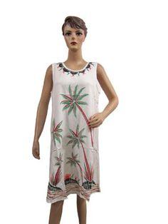 Indiatrenz Bohemian Beach Dress, Palms Print Sleeveless White Dress Tank Dress mogulinterior,http://www.amazon.com/dp/B00EJA7NZM/ref=cm_sw_r_pi_dp_U8Ldsb1JJY0X5M3C