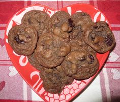 Ever Ready: Chocolate Cherry Cookies recipe posted Feb 4, 2017