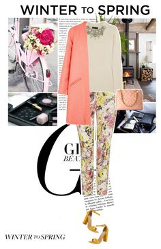 """""""Winter to Spring"""" by cocochanel10 ❤ liked on Polyvore featuring Etro, Burberry, Paper London, Steve Madden, polyvorecontest and Wintertospring"""