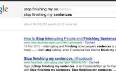 What are some funny facts about Google search?