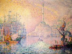 The Port of Genoa, Paul Signac, 1909