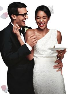 Check out the new Target Wedding Catalog - it's total eye-candy Interracial Wedding, Interracial Couples, Mixed Couples, Cute Couples, Biracial Couples, African American Brides, Black Woman White Man, Marriage Relationship, Tumblr
